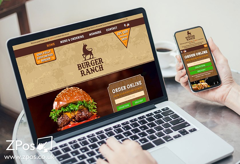 Student Work Placement Project - ZPos Takeaway Website