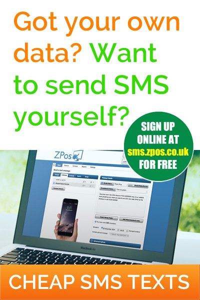 Send SMS text messages yourself