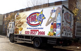 Star Catering Lorry - Suppliers to restaurants and takeaways
