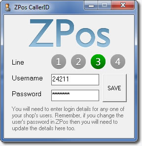 Restaurant and Takeaway epos system callerid