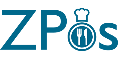 Old Restaurant Takeaway Online Ordering Website Logo for ZPos