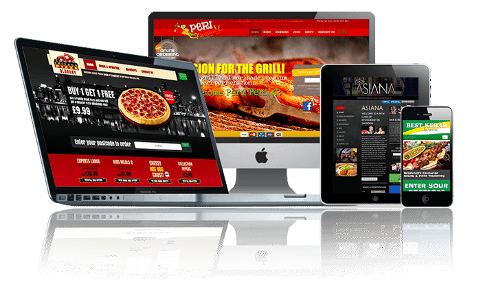Restaurant & Takeaway Online Ordering Websites & EPoS - Mobile EPoS